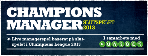 Champions Manager Slutspelet 2013