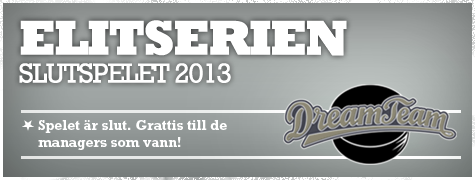 Dream Team Elitserien Slutspelet 2013